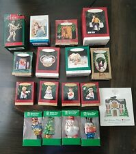 13 Hallmark Keepsake Ornaments Elvis Barbie Casablanca Star Trek  1992- 1997