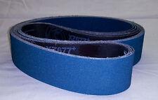 "2""x72"" Sanding Belts 36 Grit Premium Zirconia (5pcs)"