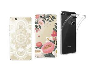 Huawei P10 lite Packung Von 3 Rückschale Soft Und Widerstandsfähiger Mit Motiven
