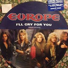 EUROPE • I'll Cry For You • Vinile Picture 12 Mix • 1991 Sony