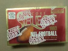 1993 SCORE SELECT FOOTBALL Factory Sealed HOBBY Box Bledsoe Bettis RC ?