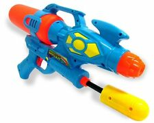 "Giant 16.5"" Water Gun Super Pump Action Cannon Shooter Drench Soaker Pistol 651"