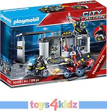 PLAYMOBIL 70338 City Action Große Mitnehm-SEK-Zentrale Konstruktionsspielzeug