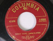 Rock 45 The Bon Bons With Ray Coniff And His Orchestra - Three Tenns (Looking Fo