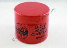Genuine Lucas Papaw Ointment Pawpaw Cream 200g Paw Paw Creme *New* 木瓜霜200克