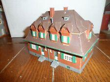 FALLER HO SCALE 2 STORY GARDEN HOUSE BILT