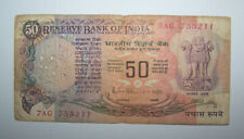 INDE - INDIA - BILLETS - 50 RUPEES - ROUPIES