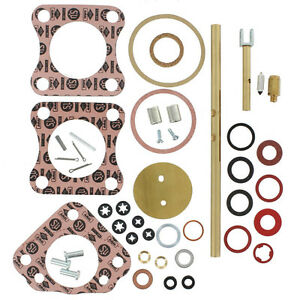 Genuine SU Carb Rebuild Kit Pair CRK210 TR3 56-62 Austin-Healey 100-4 54-56