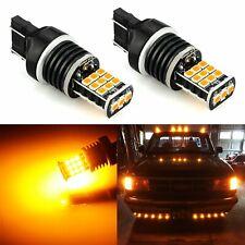 JDM ASTAR 7443 7440 Yellow 3035SMD High Power LED Turn Signal Blinker Light Bulb