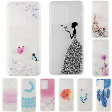 For Samsung Galaxy Note 20 Ultra S20+ Patterned Slim Soft Gel Phone Case Cover