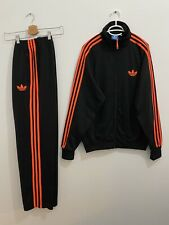 Adidas Originals ADI-Firebird Tracksuit Black Infra Red Size L