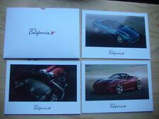 Prospekt Brochure FERRARI  California T Hochglanzblätter im Umschlag