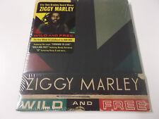 ZIGGY MARLEY - WILD AND FREE - 2011 TUFF GONG CD ALBUM (804879248422) - NEU!
