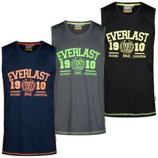 Everlast Herren Muscle Shirt Fitness Trainings Tank Top Sport Tee S M L XL XXL