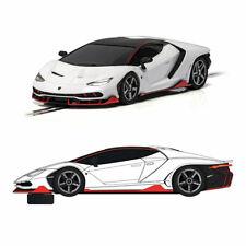 Scalextric Slot Car C4087 Lamborghini Centenario - White