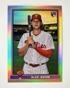 2021 Bowman 1991 Chrome Base #91B-AB Alec Bohm - Philadelphia Phillies RC