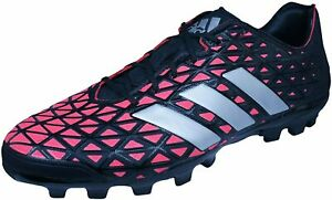 adidas Kakari Light AG Men's Lace Up Rugby Boots Cleats Q2042 Black UK Size 11.5