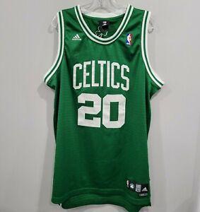 Rare VTG Adidas NBA Boston Celtics Ray Allen 20 Green Swingman Jersey Mens L