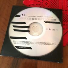 U2  Sometimes You Can't Make It On Your Own slim case PROMO CD MEXICO CDP 201628