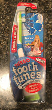 "Tooth Tunes Battery Powered Toothbrush - Hannah Montana ""Rock Star"" FREE SHIPPIN"
