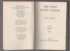 JOHN CREASEY THE TOFF DOWN UNDER FIRST EDITION HARDBACK 1953