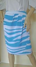 Polyester Cocktail Striped Skirts for Women