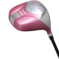 Women All Pink PGC 12° High MOI Driver Ultra Forgiving Ladies Flex Shaft