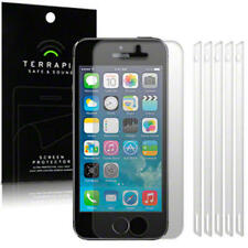 For New iPhone SE/5/5S Terrapin Screen Protector Film Cover Guard 6-in-1 Pack