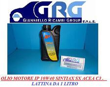 Olio Motore IP SINTIAX SX SAE 10W/40 1Litro API SN-CF Acea C3