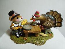 Wee Forest Folk Turkey For Dinner! M-592