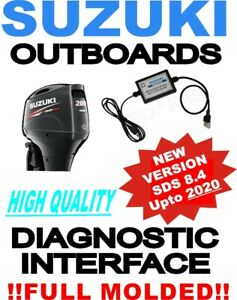 Professional SUZUKI Outboard Boat Diagnostic Kit Cable Interface USB SDS 8.4
