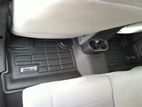 2nd Row Sure-Fit Floor Mats: 2007-2013 Jeep Wrangler Unlimited