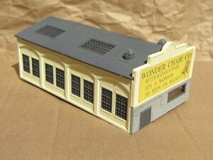 RETIRED ~ FURNITURE FACTORY by HELJAN ~ Mayhayred Trains N Scale Lot