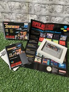STARWING FX - Super Nintendo SNES Fully Boxed Game - PAL Version
