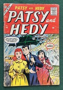Patsy and Hedy #46 Marvel Comics Atlas  Silver Age Al Hartley Hellcat Cat g/vg-