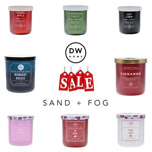 SCENTED CANDLES - REDUCED TO CLEAR (MULTIPLE SCENTS AVAILABLE)