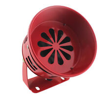 12V AIR RAID SIREN HORN TORNADO ALARM REAL MOTOR DRIVEN CIVIL DEFENSE CAR TRUCK