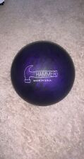 Hammer Purple Pearl Urethane Bowling Ball - 15lbs 12oz X-Out *MADE IN USA*