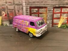 1965 Ford Econoline Van Rusty Weathered Custom 1/64 Diecast Barn Find Abandoned