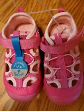 NEW Surprize by Stride Rite Toddler Girl Pink LIGHT-UP Tennis Shoes Size 11