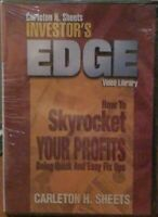 Carlton Sheets How To Skyrocket Your Profits Investor's Edge Library DVD NEW