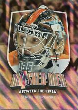 11/12 BETWEEN THE PIPES MASKED MEN 4 SILVER MASK #MM-08 SERGEI BOBROVSKY *48303