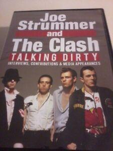 JOE STRUMMER & THE CLASH Talking Dirty DVD 2016 Interviews POST FREE