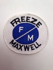 "Freeze Maxwell 3"" Patch Sew On Roofing Construction Industrial Alberta"