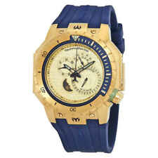 Technomarine TM-216010 Men's Multifunction Watch 48mm Gold-Tone Manta