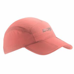 CEP RUNNING CAP UNISEX coral |W0MCBC0| rote Laufkappe von CEP. MIT UV-SCHUTZ.