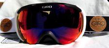 NEW $150 Mens Giro Compass White Black Winter Ski Goggles Smith Carl Zeiss Lens