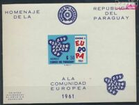 Paraguay Block17 postfrisch 1961 Europa (7188903