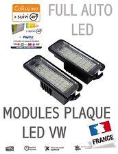 2 Éclairages de plaque immatriculation feux LED VW avec résistances anti-erreur