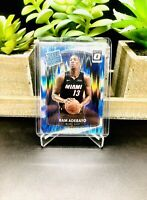 2017-18 Donruss Optic BAM ADEBAYO Rated Rookie SHOCK FLASH SP RC #187 Miami Heat